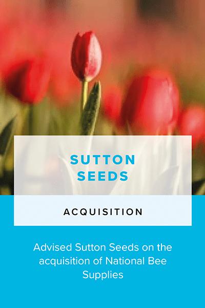 Sutton Seeds - Acquisition